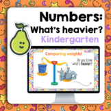 Pear Deck™ Kindergarten Comparing Weights Digital Distance Learning