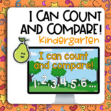 Pear Deck™ Kindergarten Math Count-Compare Groups Within 10 Distance Learning