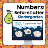Pear Deck™ Kindergarten What comes after/before Digital Distance Learning
