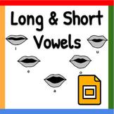 Pear Deck PowerPoint: Long & Short Vowels
