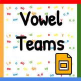 Pear Deck PowerPoint: Vowel Teams
