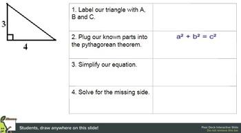 Pear Deck: Pythagorean Theorem