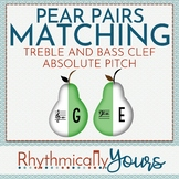 Absolute Pitches and Note Names Matching