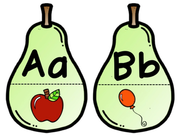 Pear Pairs for Beginning Sounds