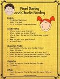 Pearl Barley and Charlie Parsley Worksheets