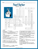 Pearl Harbor Day - Pearl Harbor Crossword