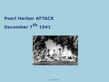 Pearl Harbor Attack World War II Power Point History Facts