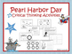 Pearl Harbor Comic Book and 25 Activities Bundle