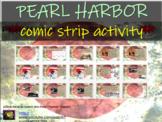 Pearl Harbor Comic Strip Activity - visual, fun, engaging lesson for any age