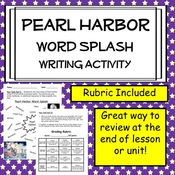 Pearl Harbor Creative Writing Assignment