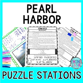 Social studies escape room teaching resources teachers pay teachers pearl harbor escape room introduction to world war ii pearl harbor day fandeluxe Gallery