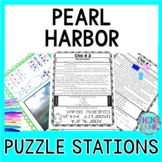 Pearl Harbor PUZZLE STATIONS: Introduction to World War II, Pearl Harbor Day