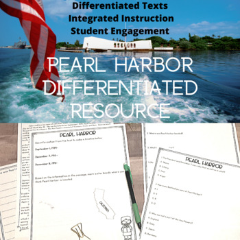Pearl Harbor Differentiated Reading Passages
