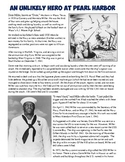 Pearl Harbor & Dorie Miller Reading and Worksheet