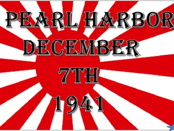 Pearl Harbor-Introduction to WW II Pacific Theatre