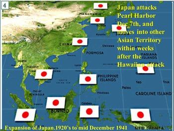 Pearl Harbor-Japans attacks -US Enters World War II