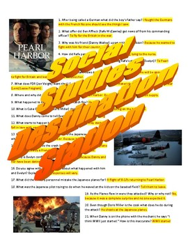 Pearl Harbor Movie Guide & Key