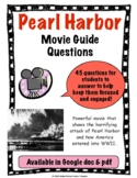 Pearl Harbor Movie Guide Questions