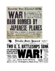 Pearl Harbor Newspaper Headlines Lesson Plan