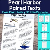 Pearl Harbor Pair Texts and Close Read