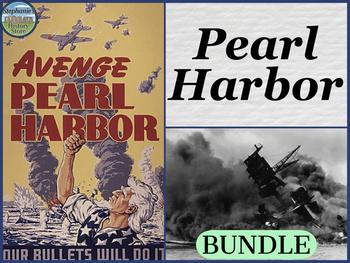 Pearl Harbor Primary Source Analysis BUNDLE