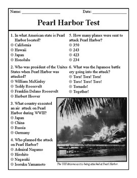 Pearl Harbor Test