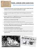 Pearl Harbor  Video Notes Sheet (w/ link) (WW2)