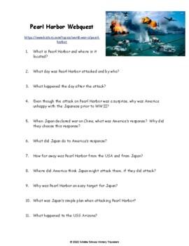 Pearl Harbor Webquest