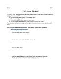 Pearl Harbor Webquest / Internet Scavenger Hunt - Distance Learning