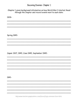 Guided Reading: What Was Pearl Harbor- History, Common Core, No Prep, Printables