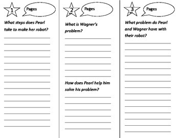 Pearl & Wagner Two Good Friends Trifold - Reading Street 2nd Grade Unit 3 Week 1