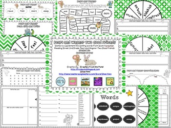 Pearl and Wagner Spelling and Vocabulary Games