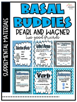 Pearl and Wagner Two Good Friends -Reading Street (2013) 2