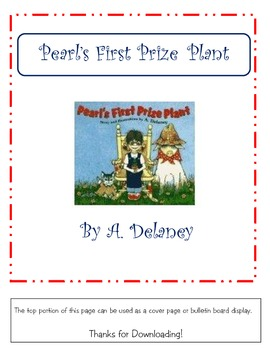 Pearl's First Prize Plant (story supplement)