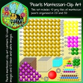 Counting Beads - Montessori Style - Bee Creative Clip Arts