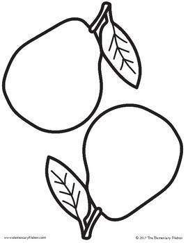 Pears - Homophone Pair-Pear Tree