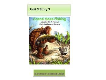 "2nd Grade Reading street Unit 3 story 3 ""Anansi Gone Fishing"""