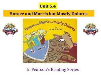 "2nd grade  Story 5.4 ""Horace"" spelling & HF words"