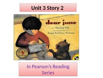 "2nd grade  Unit 3 story 2 ""Dear Juno"""