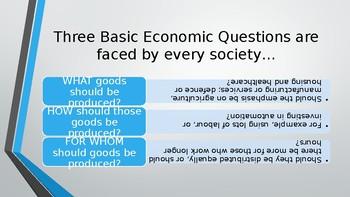 Pearson Edexcel A Level Economics 1.1.6 Free market, mixed, command economies