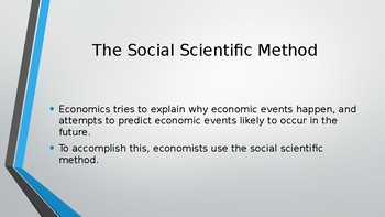Pearson Edexcel AS Level Economics 34 slides for use with objectives 1.1.1-1.1.5