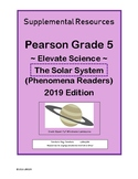 Pearson Grade 5 Elevate Science The Solar System Phenomena Readers Supplement