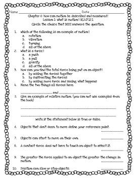 Pearson Interactive Science Grade 6 Worksheets & Teaching