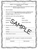 Pearson Interactive Science 2012 4th Grade Study Guide Bundle 1-8