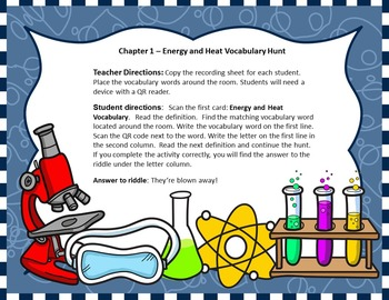 Pearson Interactive Science 2016 Edition Grade 4 Physical Science Vocabulary