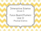 Pearson Interactive Science Focus Board Posters