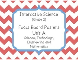 Pearson Interactive Science (Grade 2) Focus Board Posters