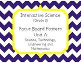 Pearson Interactive Science (Grade 3) Focus Board Posters