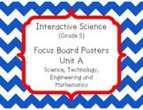 Pearson Interactive Science (Grade 5) Focus Board Posters
