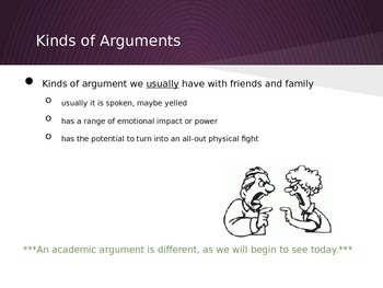Pearson Middle School Argumentative Writing:  Lesson 3